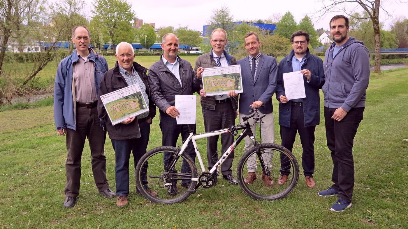 Der Bikepark Meschede erhält Förderbescheid