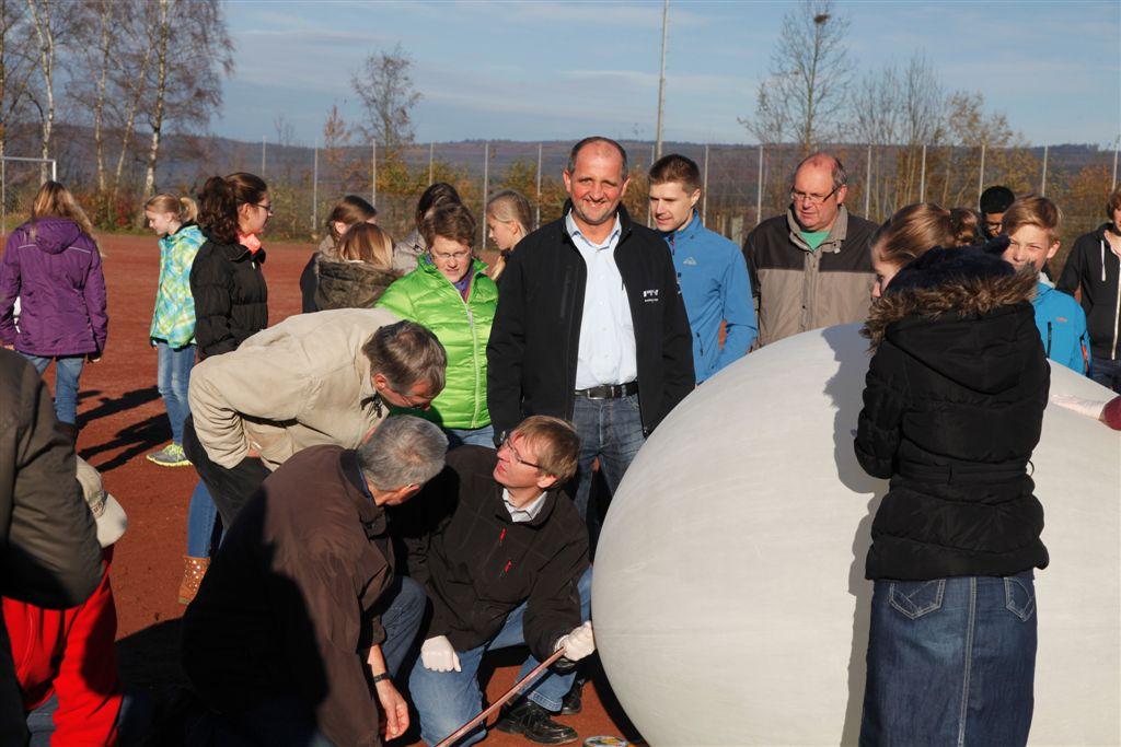 Bürgerstiftung startet Stratosphärenballon